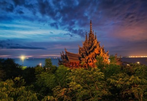 "Amazing Temple In Thailand.The Temple Rises ""Prasat Satghatum """