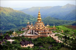 Phagaew Temple Petchaboon Thailand