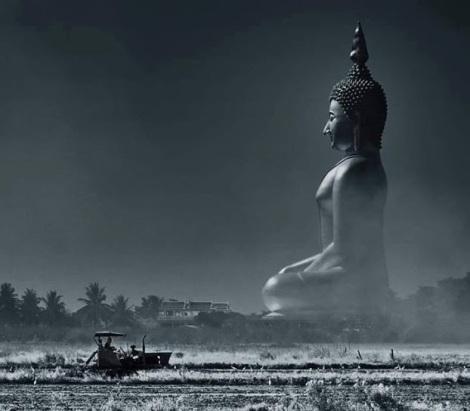 Big Buddha In Angtong Province Thailand