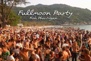 Full moon party pagnan in Koh samui thailand