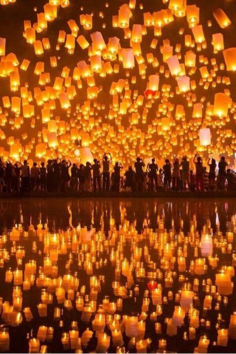 Festival of Light, Thaialnd
