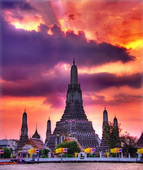 Wat Arun,Bangkok Thaialnd