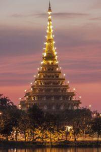 Khon Kaen Temple ,Thailand