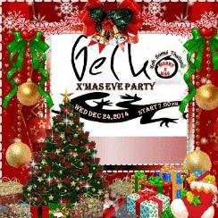 Koh Samui X'Mas Eve Party @ Gecko samui Thailand,welcome!