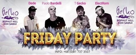 Koh Samui Friday Party @ Gecko Samui Thailand (2)