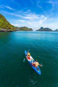Canoeing in Koh samui - Thailand.
