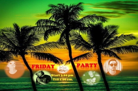 Friday Party @ Gecko samui - Thailand,welcome everyone!