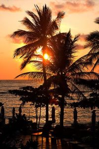 Stunning Sunset over Koh samui - Thailand,welcome!