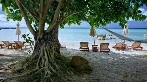 Laem set beach in Koh samui - Thailand.