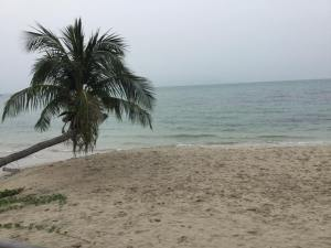 Koh samui in rainy season.