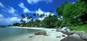 Lamai set beach in Koh samui  Thailand,welcome!