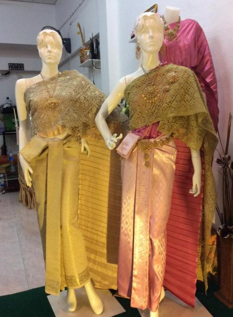 Handmade Thai Silk from Surin Province.