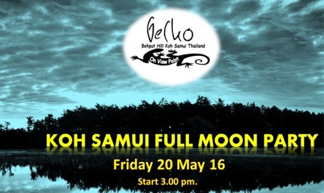 Koh samui Full moon party @ Gecko samui - Thailand.