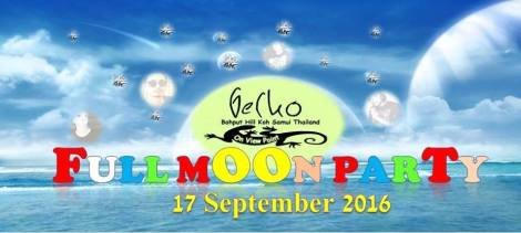 Koh samui Full moon party @ Gecko samui - Thailand..
