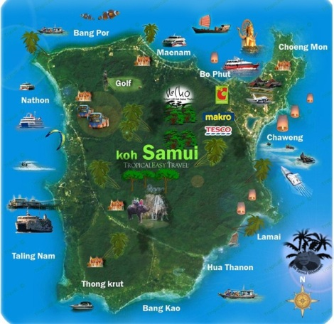 What's on Koh samui - Thailand...