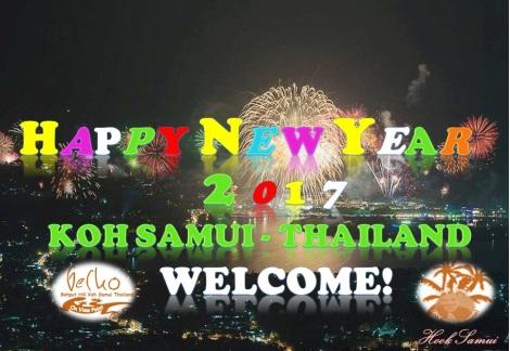 New year 2017, Koh samui welcome!