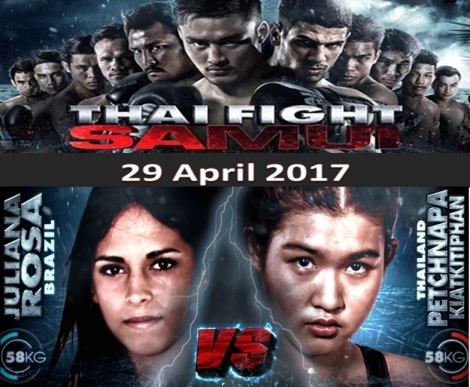Thai Fight Samui 2017.