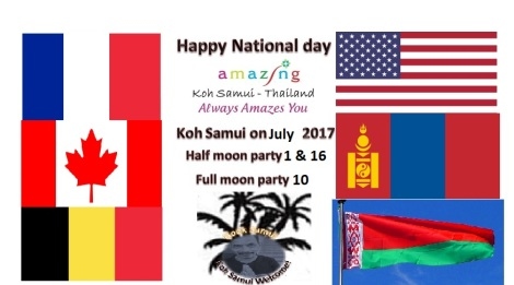 Koh samui on July 2017