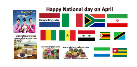 Happy National day o April.